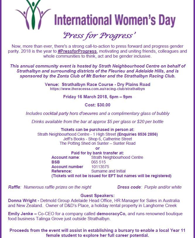 PRESS FOR PROGRESS EVENT Promoting awareness for gender equality and parity.