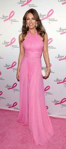 #Elizebeth Hurly in Pink Versace 2014 | Via ♕LadyLuxury♕