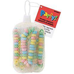 Candy Bracelet Party Favors, 10ct