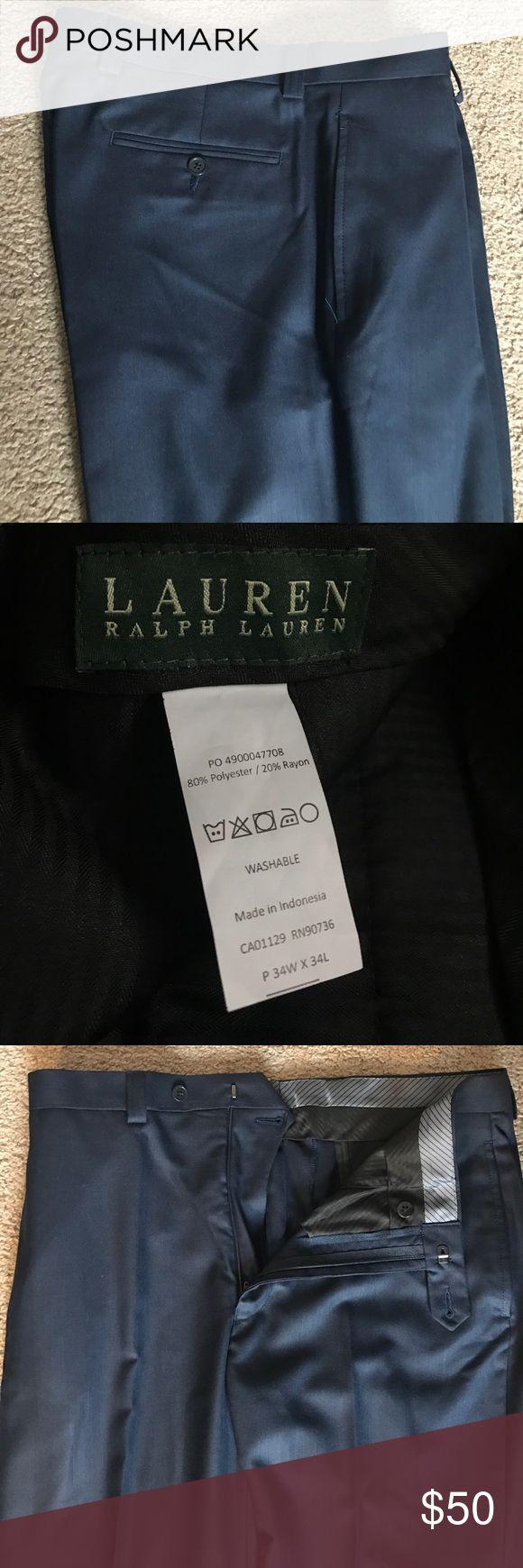 Lauren Ralph Lauren Dress Pants (Unworn) Brand new, unworn navy dress pants by Lauren Ralph Lauren. Mistakenly removed tags and was unable to return them. Lauren Ralph Lauren Pants Dress