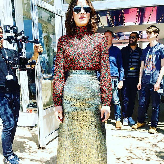 Pin for Later: Les Stars Nous Emmènent en Coulisses du Festival de Cannes Avec Instagram Marion Cotillard