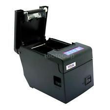 Hoin 58mm POS Dot Receipt Paper Barcode Thermal Printer LAN Port EU Plug W3D3