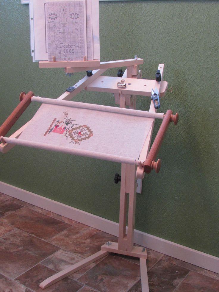 Ergo Floor Stand Artisan Designs : Needlework needlepoint cross stitch stand with pattern