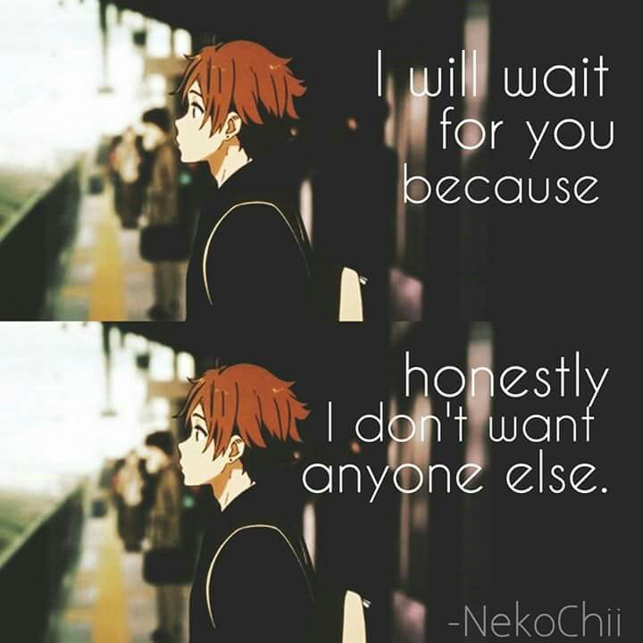 But we can not wait for someone like this...