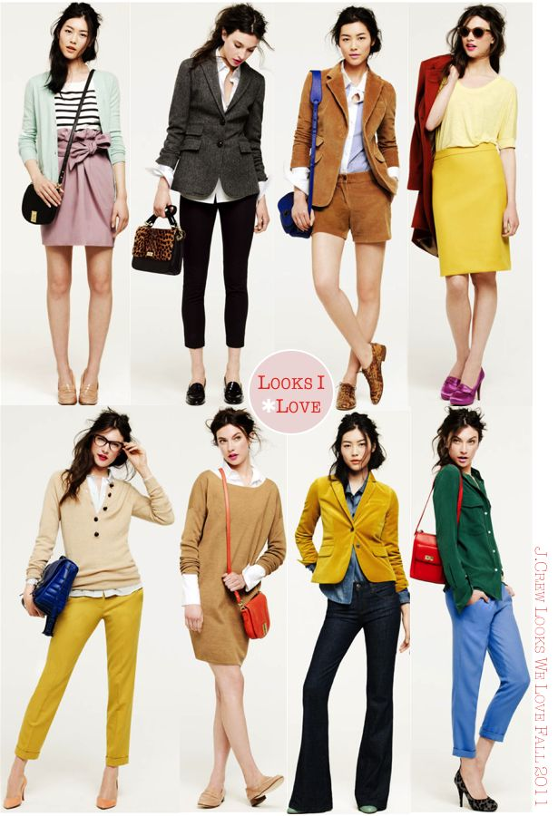 J.crew has perfected effortless prep...and such fun hues!