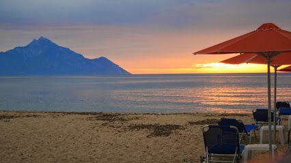 Good Morning Mt. Athos in #Sarti #Halkidiki #Greece #VisitGreecegr #VisitHalkidiki