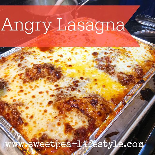 This lasagna recipe is too good not to share! Great, make ahead recipe that freezes well. Perfect for a large crowd!