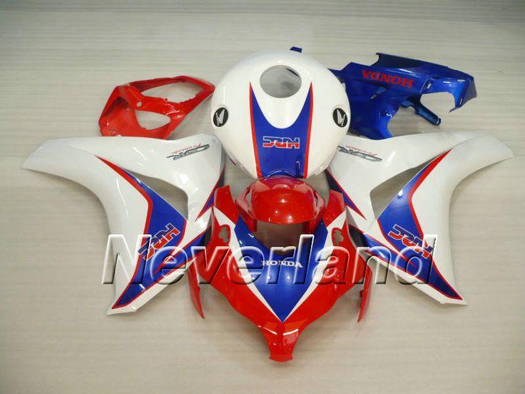 Honda CBR 1000RR 2008-2009 ABS Verkleidung - Weiß/Rot/Blau #cbr1000rrverkleidung #cbr1000rr08verkleidung