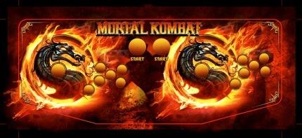 Mortal Kombat Arcade contro panel