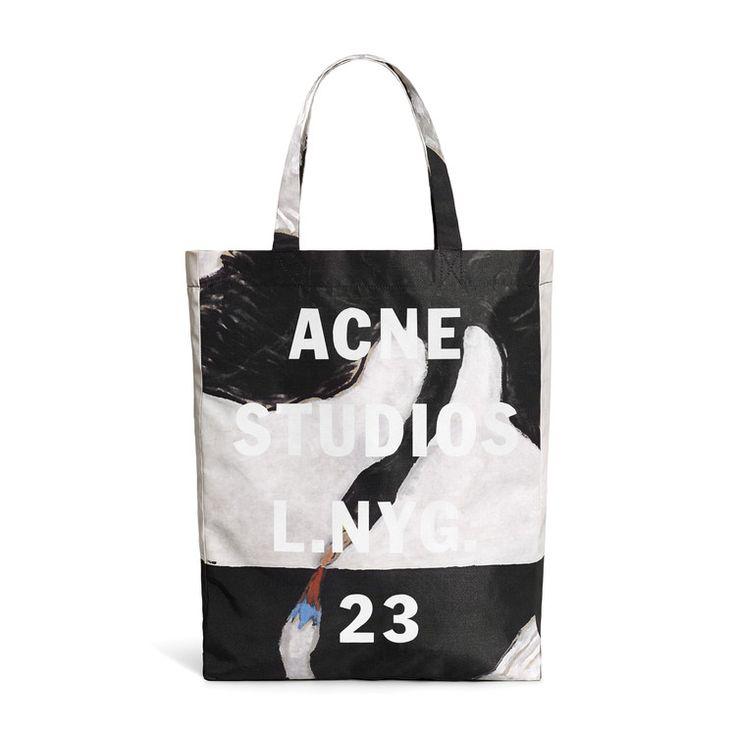Acne Studios - Ross H.K black/white swan