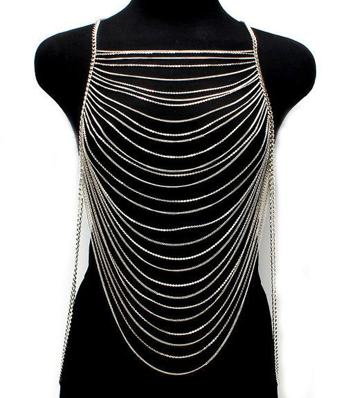 PLUS SIZE 3X 2X 1X womens Multi Layers Chains by AllSizeHOTChicks, $34.99