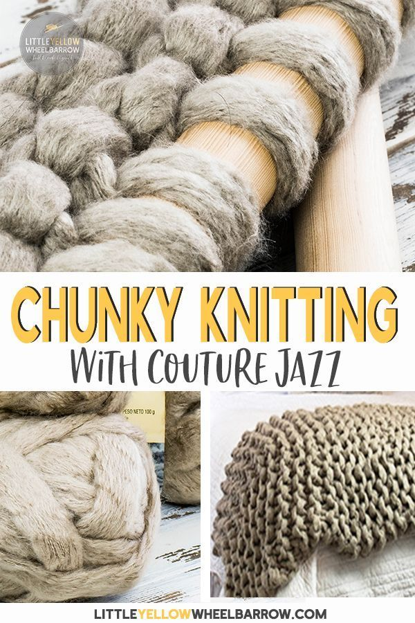 A Chunky Knit Blanket and My Arm Knitting Failure | *Knit Patterns
