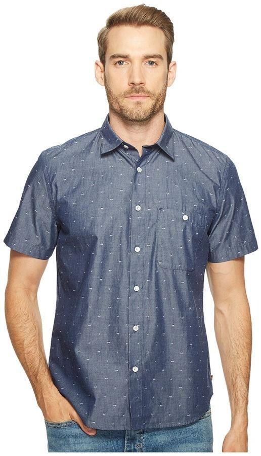 7 For All Mankind Short Sleeve Mini Bikini Print Shirt