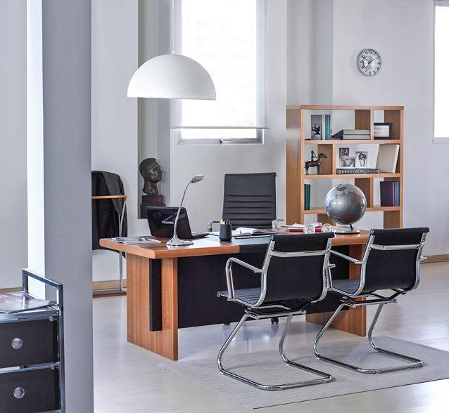 Elegante y tradicional. La comodidad y el ambiente que tu oficina merece.