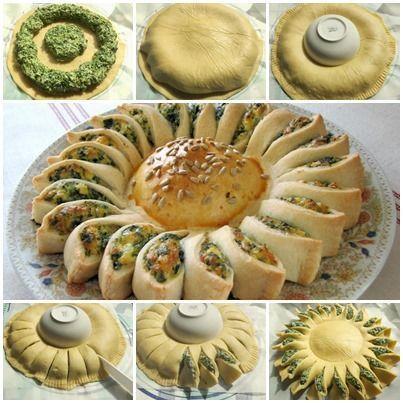 How to Make Delicious Sunny Spinach Pie With Recipe   – Desserts und Backen