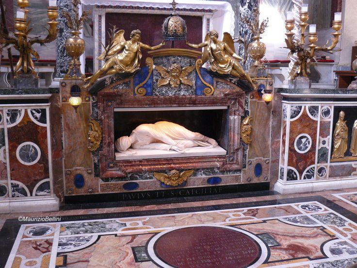 Tomba di Santa Cecilia - Roma by Maurizio Bellini on 500px