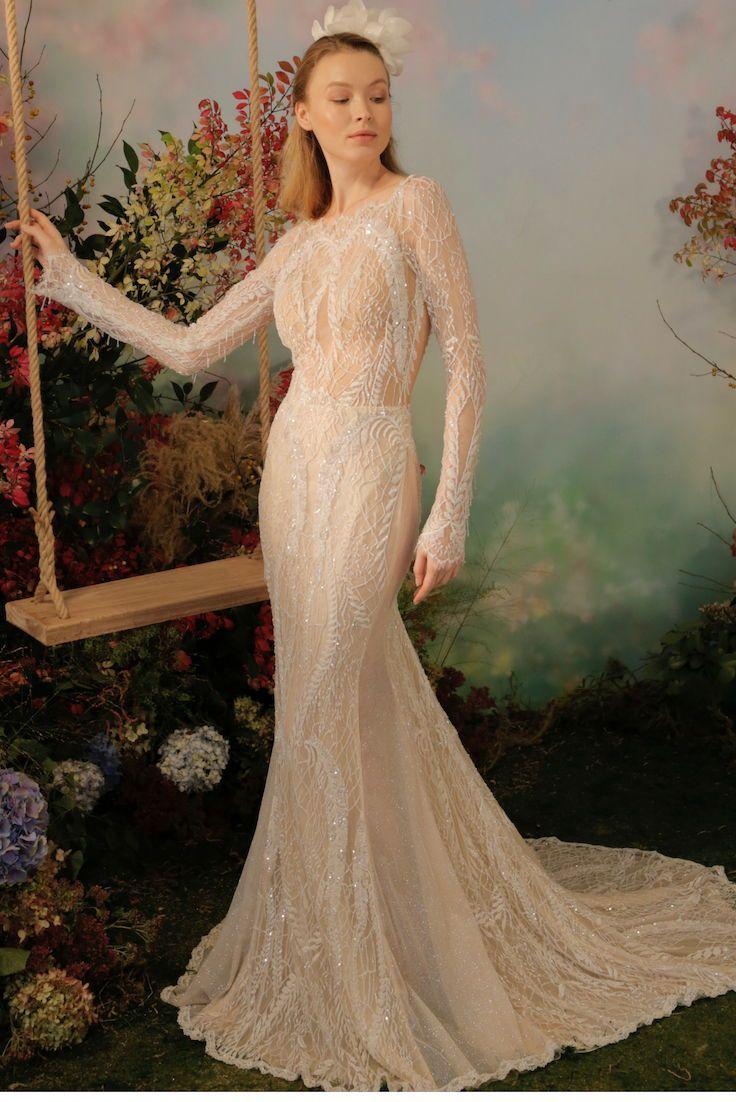 Wedding dress short in front with long train  Gala by Galia Lahav wedding dress  fall bridal gown glamorous body