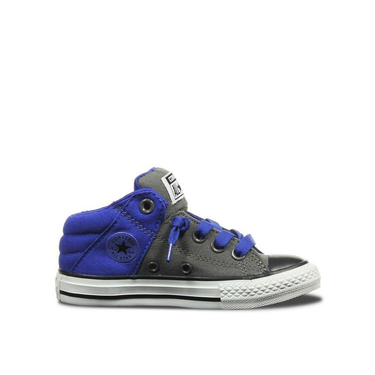 Image of Converse mid top - easy on blue