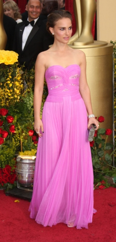Natalie Portman's elegant dress