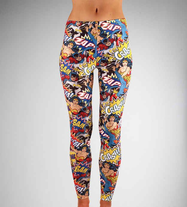 Keep your gams in good company with Superhero Ladies | 22 Leggings For Every Fandom To Keep You Warm This Winter