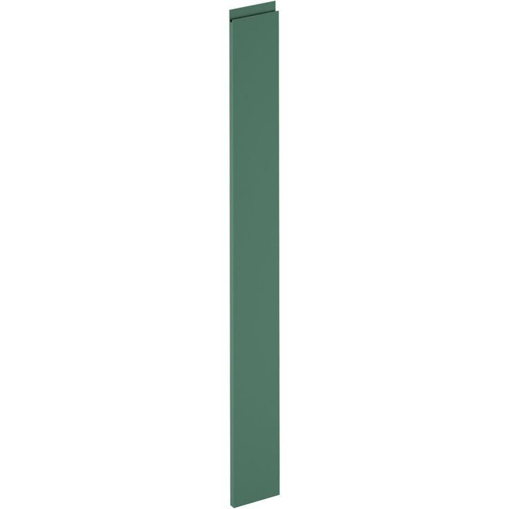 Porte de cuisine Osaka vert laguna, DELINIA ID H.137.3 x l.14.7 cm