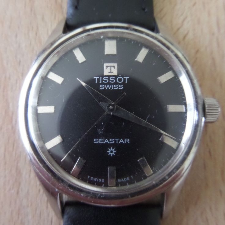TISSOT SEASTAR - 1968 Vintage - Guaranteed Genuine, Swiss made Gents/Mens mechanical mechanism wrist watch by EWcoLondon on Etsy