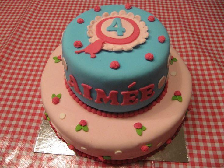 Meisjes taarten - www.cakeforyou.nl