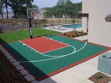 1341 besten bah e mobilya 0yuncak bilder auf pinterest for Basketball court installation cost