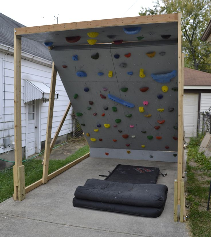 Building a bouldering wall | Our Life Outside