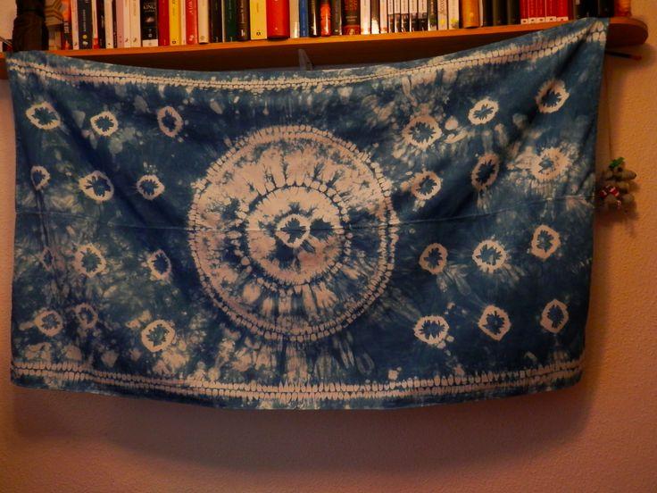 Ori Nui Shibori scarf