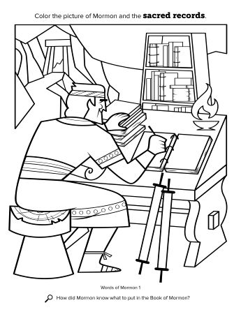 16 best church - B of M - Mormon images on Pinterest Scripture - new coloring pages book of mormon