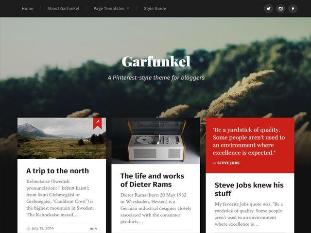 36 best Free WordPress Themes images on Pinterest | Wordpress ...