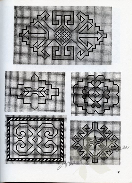 Gallery.ru / Фото #43 - Persian Rug Motifs for Needlepoint - Dora2012