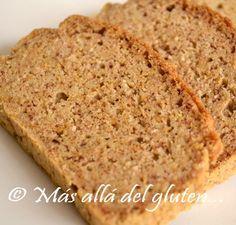 Más allá del gluten...: Pan de Arroz y Almendras (Receta GFCFSF)