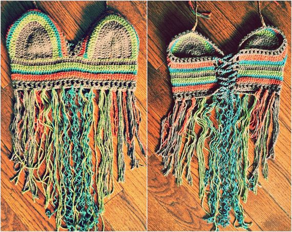 earth wind & fire festival halter top by TheUniversalMind on Etsy, $50.00