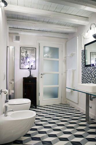 Piastrella da bagno / da sala / da pavimento / in graniglia di marmo ASSONOMETRIA MIPA srl