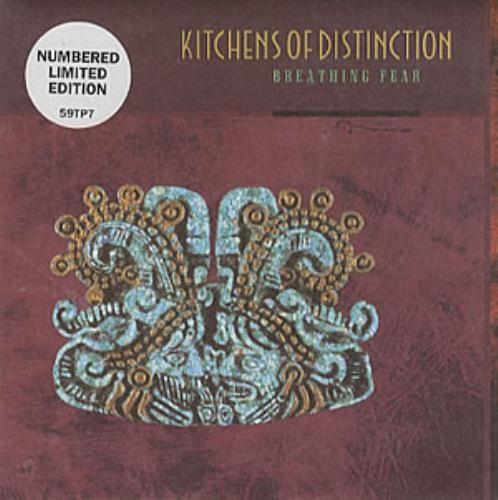 "Kitchens Of Distinction Breathing Fear 1992 UK 7"" vinyl 59TP7: KITCHENS OF DISTINCTION Breathing Fear (1992 UK limited edition vinyl 7…"