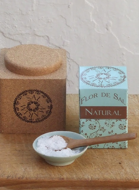 Salt Flower, traditionally hand-harvested in the Portuguese salt marshes of Castro Marim Natural Reserve