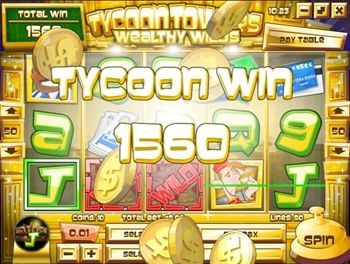 Tycoon Towers is a Rival Gaming video slot game with 5 reels, 50 paylines and a Sticky Wild Bonus to die for!
