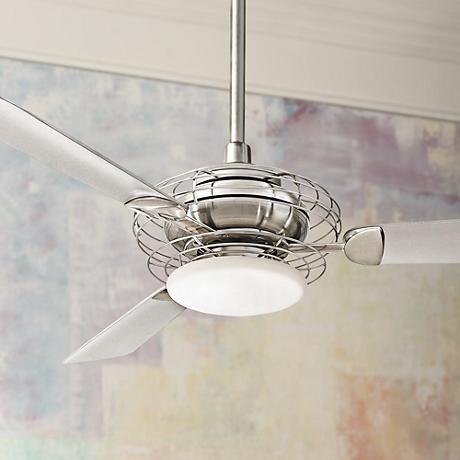 50 best kitchen fan images on pinterest kitchen fan blankets and 52 minka aire acero steel and nickel ceiling fan aloadofball Images