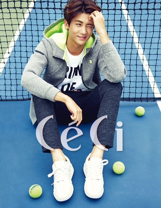 """Park Hyung Sik Will Steal Your Heart with Only a Wink in """"CeCi""""   Koogle TV"""