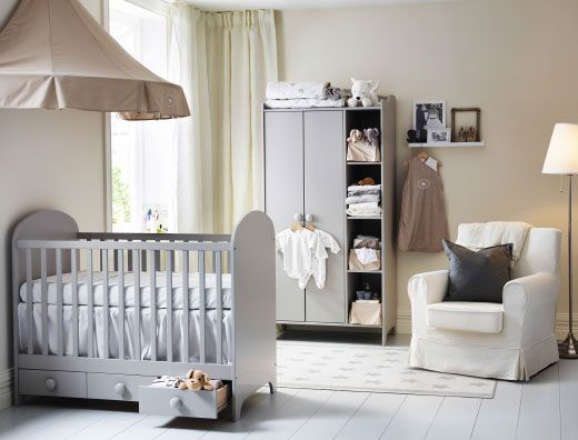 Die besten 25+ Babybett mit schubladen Ideen auf Pinterest Ikea - schlafzimmer landhausstil ikea