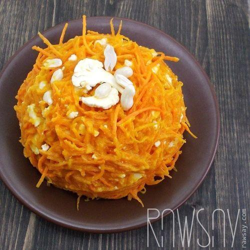 Спагетти из тыквы с соусом из авокадо - Сыроедение, рецепты и диеты - Rawsay
