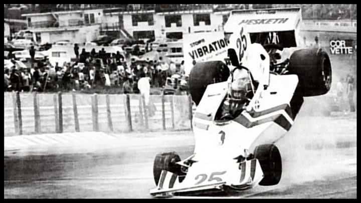 f1 5 de Octubre de 1975-Gran Premio de Estados Unidos Costa Este-Watkins Glen-Brett Lunger-Hesketh 308