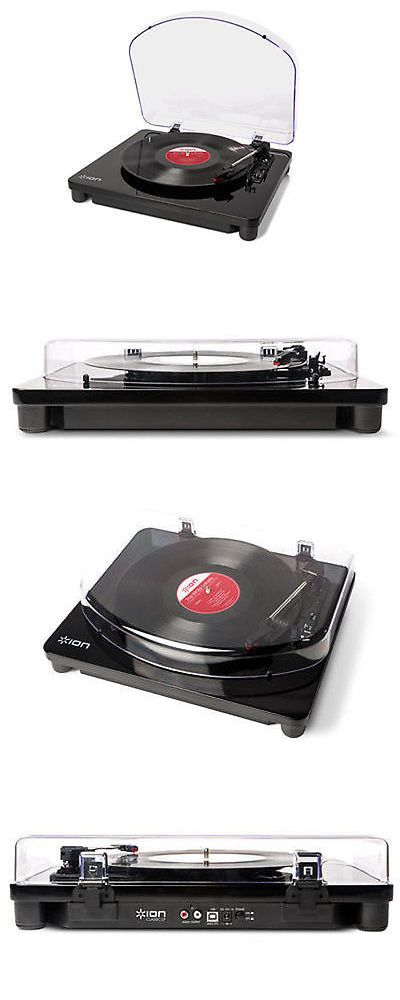 Record Players Home Turntables: Ion Audio Classic Lp 3-Speed Belt-Drive Turntable For Mac And Pc W Usb Conversion -> BUY IT NOW ONLY: $53.95 on eBay!