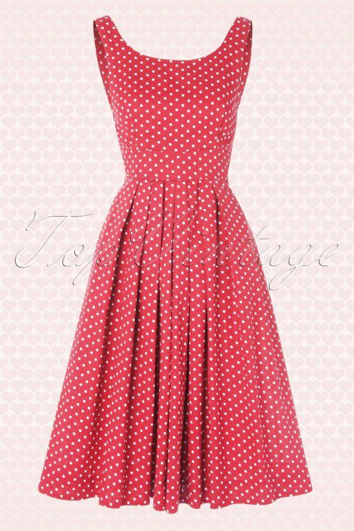 Emily and Finn 104 27 15634 Pink Isobel Polkadot A line Dress 20150121 0005W