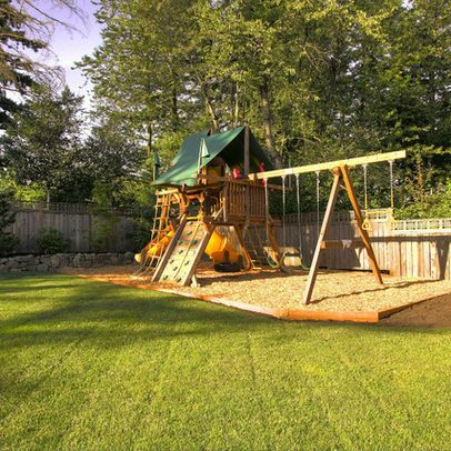 I want a nice backyard for my kids in the future with a playground NO POOL!