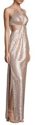Aidan Mattox Sequin Column Gown $195.00 http://shopstyle.it/l/tyap