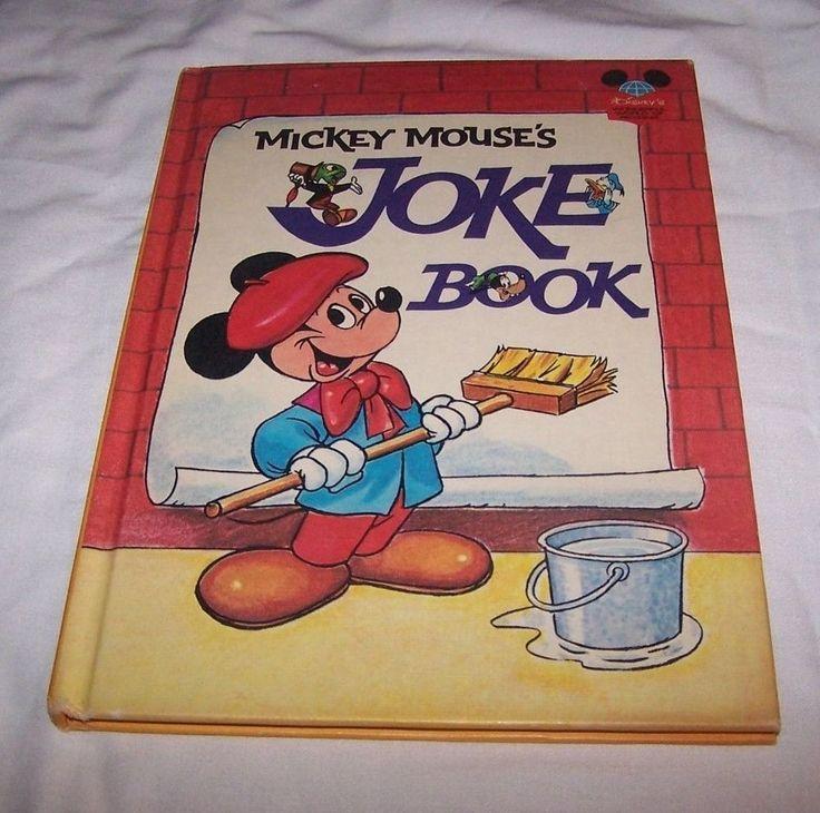 Disney's Mickey Mouse's Joke Book, HB, 1973, Random House, New York