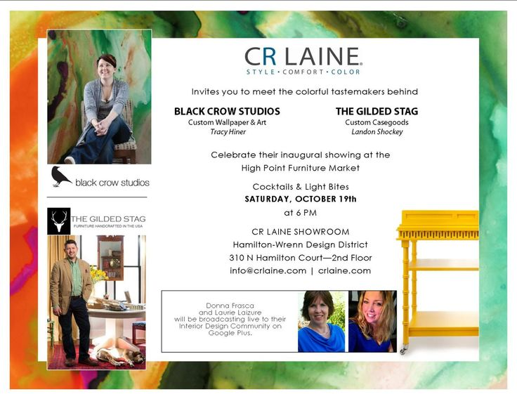 color design and cr laine oh my high